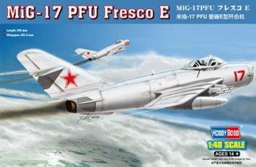 MiG-17 PFU Fresco E · HBO 80337 ·  HobbyBoss · 1:48