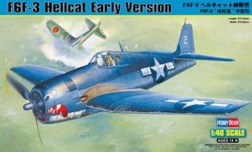 F6F-3 Hellcat Early Version · HBO 80338 ·  HobbyBoss · 1:48