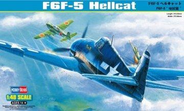F6F-5 Hell cat · HBO 80339 ·  HobbyBoss · 1:48
