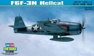 F6F-3N Hellcat · HBO 80340 ·  HobbyBoss · 1:48