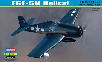 F6F-5N Hellcat · HBO 80341 ·  HobbyBoss · 1:48