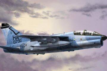 A-7K Corsair II · HBO 80347 ·  HobbyBoss · 1:48