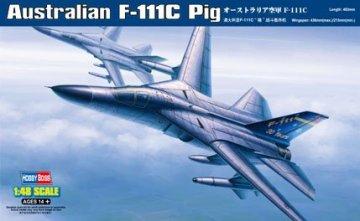 Australian F-111C Pig · HBO 80349 ·  HobbyBoss · 1:48
