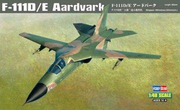 F-111D/E Aardvark · HBO 80350 ·  HobbyBoss · 1:48