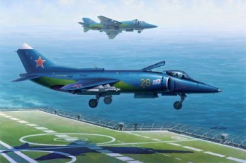 Yak-38/Yak-38M Forger A · HBO 80362 ·  HobbyBoss · 1:48