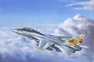 F-14A Tomcat · HBO 80366 ·  HobbyBoss · 1:48