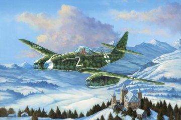 Messerschmitt Me 262 A-1a/U3 · HBO 80371 ·  HobbyBoss · 1:48