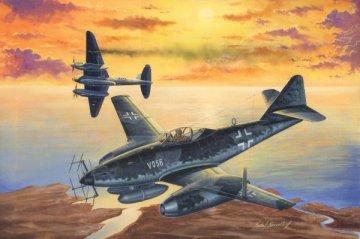 Messerschmitt Me 262 A-1a/U2 (V056) · HBO 80374 ·  HobbyBoss · 1:48
