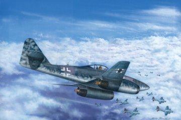 Messerschmitt Me 262 A-1b · HBO 80375 ·  HobbyBoss · 1:48