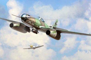 Messerschmitt Me 262 A-2a/U2 · HBO 80377 ·  HobbyBoss · 1:48