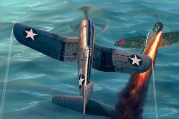 F4U-1 Corsair Late version · HBO 80382 ·  HobbyBoss · 1:48