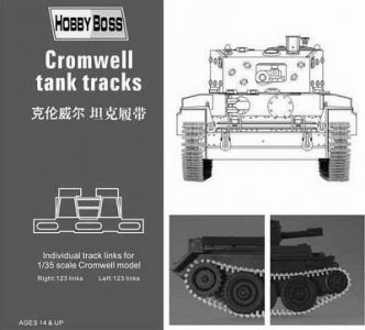 Cromwell  tank tracks · HBO 81004 ·  HobbyBoss · 1:35