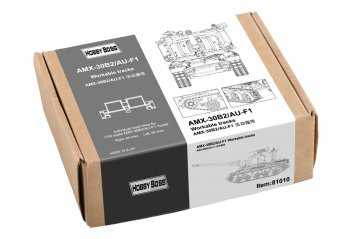 AMX-30B2/AU-F1 Workable Tracks · HBO 81010 ·  HobbyBoss · 1:35