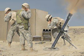 M252 Mortar · HBO 81012 ·  HobbyBoss · 1:3