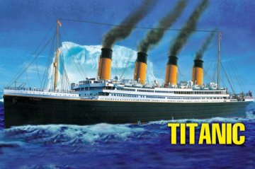 RMS Titanic · HBO 81305 ·  HobbyBoss · 1:550