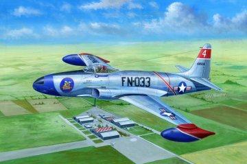 F-80A Shooting Star fighter · HBO 81723 ·  HobbyBoss · 1:48