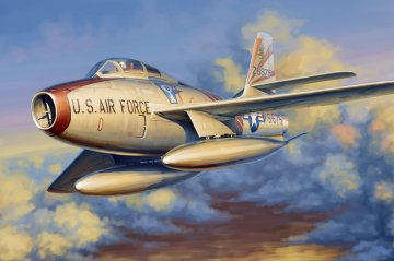 F-84F Thunderstread · HBO 81726 ·  HobbyBoss · 1:48
