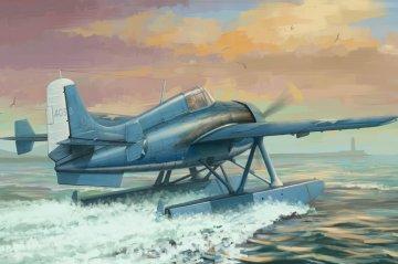 US F4F-3S Wildcatfish · HBO 81729 ·  HobbyBoss · 1:48