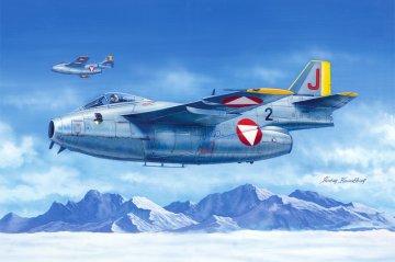 J 29F Flying Barrel · HBO 81745 ·  HobbyBoss · 1:48
