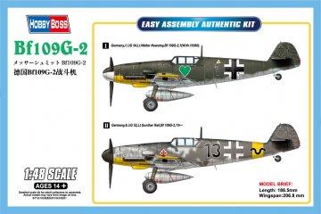 Messerschmit Bf 109 G-2 · HBO 81750 ·  HobbyBoss · 1:48