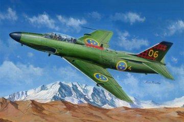SAAB J-32B/E Lansen · HBO 81752 ·  HobbyBoss · 1:48