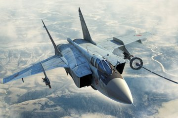 Russian MiG-31B/BM Foxhound · HBO 81754 ·  HobbyBoss · 1:48