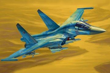 Russian Su-34 Fullback Fighter-Bomber · HBO 81756 ·  HobbyBoss · 1:48