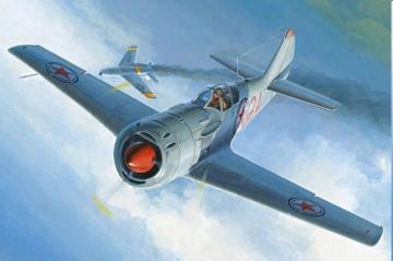 Soviet Lavochkin La-11 Fang · HBO 81760 ·  HobbyBoss · 1:48