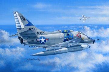 A-4E Sky Hawk · HBO 81764 ·  HobbyBoss · 1:48