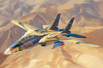 Persian Cat F-14A Tomcat - IRIAF · HBO 81771 ·  HobbyBoss · 1:48