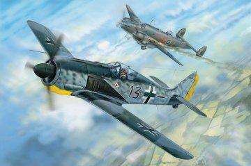 Focke Wulf FW 190 A-5 · HBO 81802 ·  HobbyBoss · 1:18