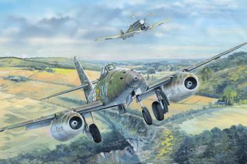 Messerschmitt Me 262 Fighter · HBO 81805 ·  HobbyBoss · 1:18