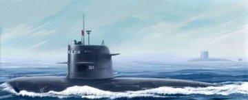 PLA Navy Type 039G Song class SSG · HBO 82001 ·  HobbyBoss · 1:200