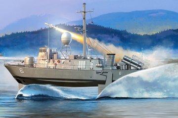 USS Pegasus PHM-2 · HBO 82006 ·  HobbyBoss · 1:200