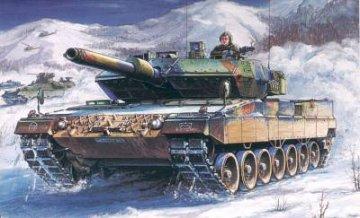 German  Leopard  2  A5/A6  tank · HBO 82402 ·  HobbyBoss · 1:35