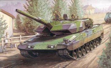 Danish Leopard 2A5 DK Tank · HBO 82405 ·  HobbyBoss · 1:35