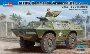 M706 Commando Armored Car in Vietnam · HBO 82418 ·  HobbyBoss · 1:35