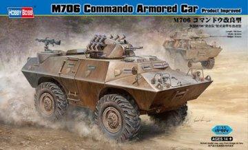 M706 Commando Armored Car Product Improved · HBO 82419 ·  HobbyBoss · 1:35