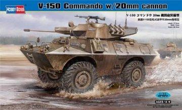 V-150 Commando w/20mm cannon · HBO 82420 ·  HobbyBoss · 1:35