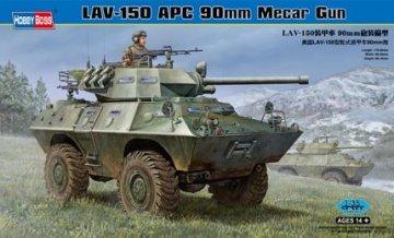 LAV-150 APC 90mm Mecar Gun · HBO 82421 ·  HobbyBoss · 1:35