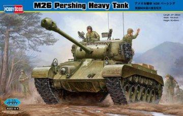 M26 Pershing Heavy Tank · HBO 82424 ·  HobbyBoss · 1:35