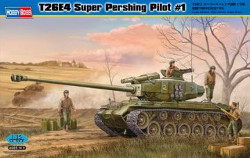 T26E4 Super Pershing, Pilot #1 · HBO 82426 ·  HobbyBoss · 1:35