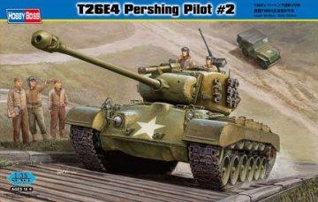 T26E4 Pershing, Pilot #2 · HBO 82427 ·  HobbyBoss · 1:35