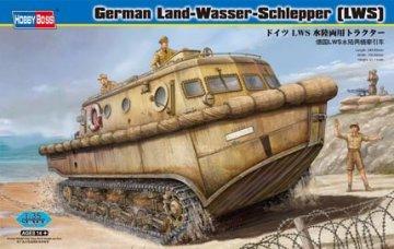 Deutscher Land-Wasser-Schlepper frühe Produktion · HBO 82430 ·  HobbyBoss · 1:35