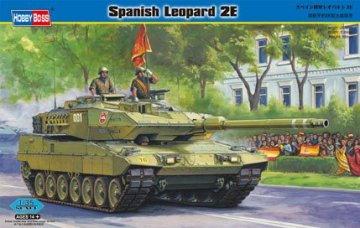 Spanish Leopard 2E · HBO 82432 ·  HobbyBoss · 1:35