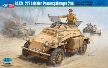 Sd.Kfz. 222 Leichter Panzerspahwagen 2cm · HBO 82442 ·  HobbyBoss · 1:35