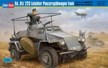 Sd. Kfz 223 Leichter PanzerspahwagenFunk · HBO 82443 ·  HobbyBoss · 1:35