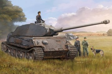 German VK4502 (P) Vorne · HBO 82444 ·  HobbyBoss · 1:35