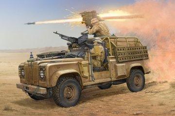 Land Rover WMIK w/MILAN ATGM · HBO 82447 ·  HobbyBoss · 1:35