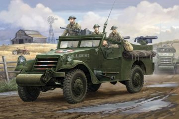 M3A1 Scout Car ´White´ Early Version · HBO 82451 ·  HobbyBoss · 1:35